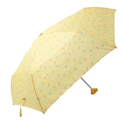 Amarillo cacahuetes música notas paraguas – amarillo Snoopy paraguas
