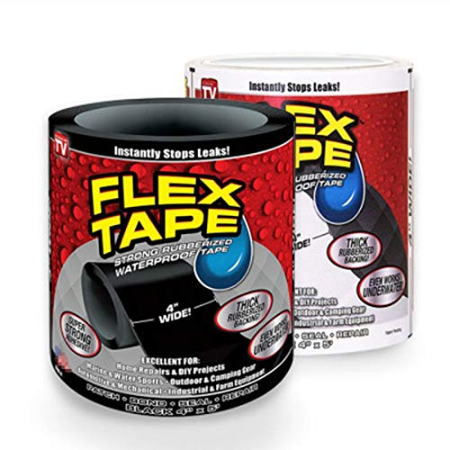 ouying1418 Super Strong Flex Tape Leakage Repair Waterproof Tape for Hose Pipe Bonding