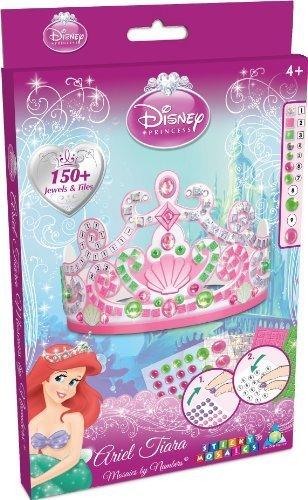 Orb Factory Sticky Mosaics Disney Princess Airel Tiara by Treasure Trove