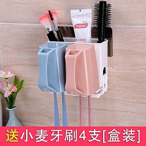 Juego de vasos para el cepillo de dientes de la pareja Soporte para el cepillo de