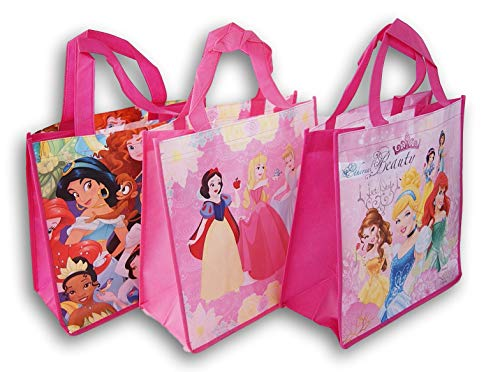 Legacy Licensing Partners Disney Princess Tote Bag Bundle - Set of 3