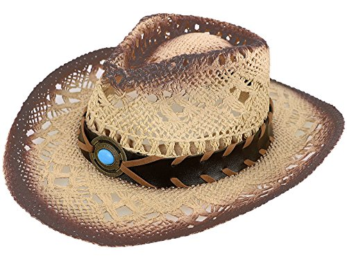 Simplicity Kid's Costume Party Cowboy Straw (Cheap Cowboy Party Hats)
