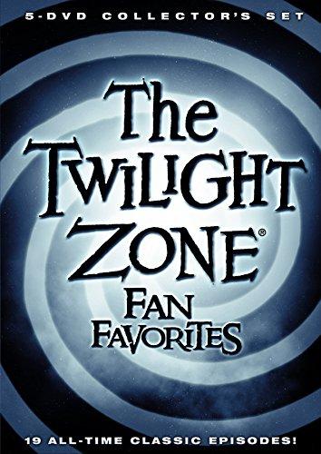 DVD : The Twilight Zone: Fan Favorites (Full Frame, Boxed Set, Slipsleeve Packaging, 5 Disc)