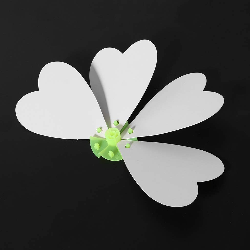 JAGENIE Blank White Paper Windmill DIY Drawing Material Kid Educational Accessories Gift A