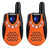 HUAXING 2pcs Children Walkie Talkie for Kids 0.5W PMR PMR446 FRS PTT VOX Flashlight Rechargable Battery 2 Way Radio