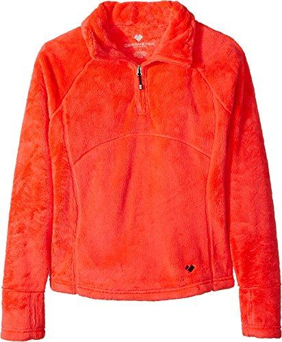 s Furry Fleece Top (Big Kids) Popstar Pink Sweatshirt ()