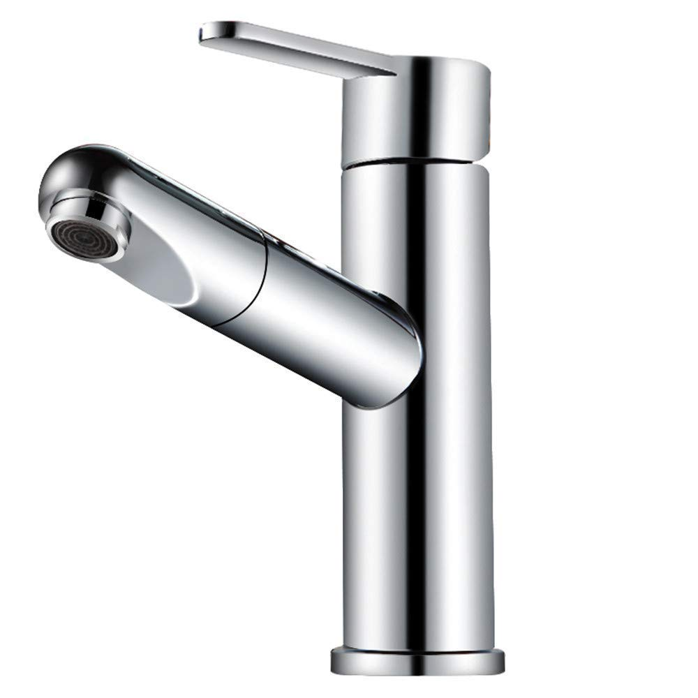 Oudan All Copper Basin Faucet Washbasin Basin Faucet Cold Drawing (color   -, Size   -)