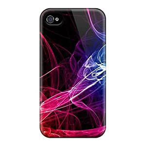 Pretty AJhgspH5079kEdhP Iphone 4/4s Case Cover/ Colorful Wave Series High Quality Case