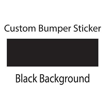 Amazoncom Custom Bumper Sticker Wyco Products Customizable - Custom made bumper stickers