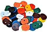 Bulk Hardware BH00934 Workshop Assortment of Coloured Key Caps - by Bulk Hardware