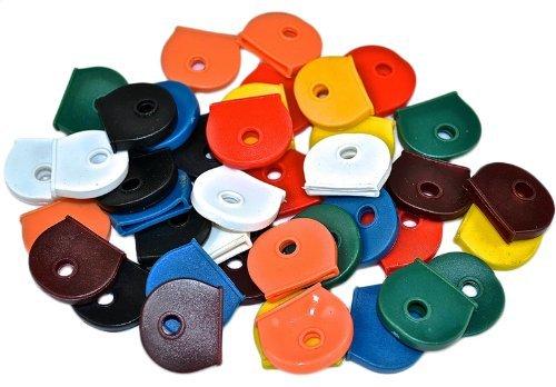 Bulk Hardware BH00934 Workshop Assortment of Coloured Key Caps - by Bulk Hardware by Bulk Hardware