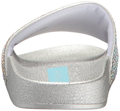 Blau von Betsey Johnson Damen SB-Dixie Slide Sandale Blush Multi 64