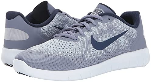 Nike Kids Free Rn 2017 Gs Grey Blue Running Shoe 4 5 Kids Us Amazon Ca Shoes Handbags