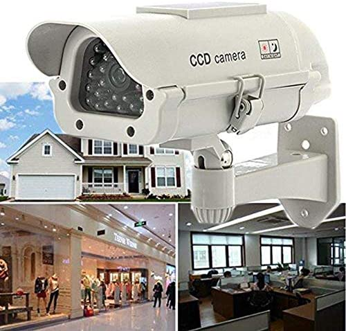 Dummy Camera Solar FISHTEC /® Outdoor CCTV