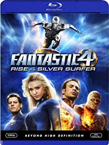 Cover Image for 'Fantastic Four - Rise of the Silver Surfer [Blu-Ray]'