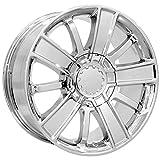 rims for 2015 chevy silverado - Replica 153C High Country 20x9 6x139.7 +27mm Chrome Wheel Rim