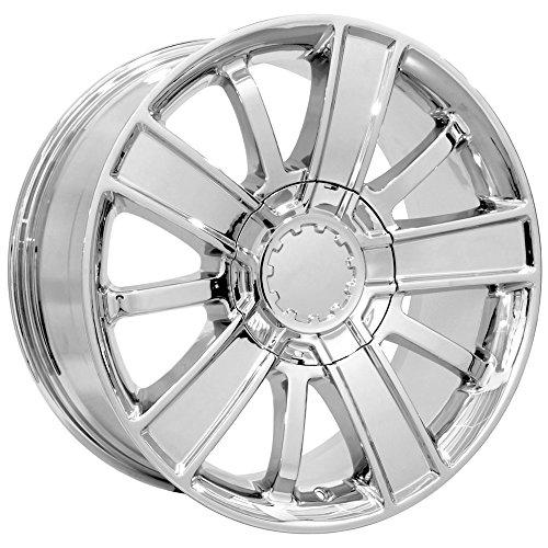 Replica 153C High Country 20x9 6x139.7 +27mm Chrome Wheel Rim