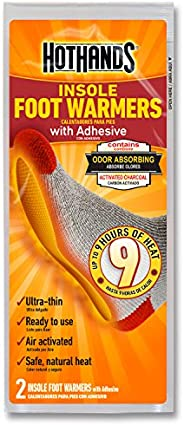 HotHands Insole Foot Warmers with Adhesive backing
