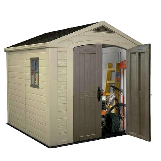 STS SUPPLIES LTD Caja de almacenamiento para cobertizo de jardín ...