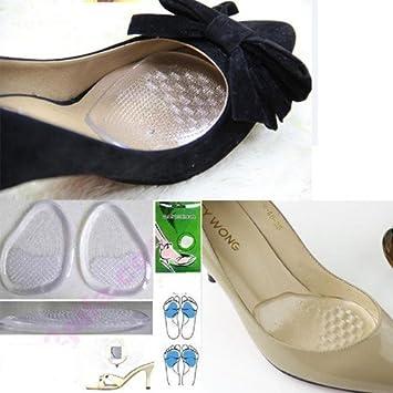 Amazon.com: 1 par de silicona Gel Cojín Plantillas Foot Care ...