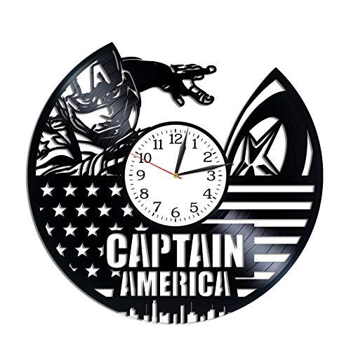 Best Lp Gifts For A Men - Kovides Captain America Room Art Birthday