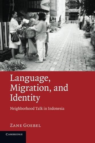 Language, Migration, and Identity: Neighborhood Talk in Indonesia