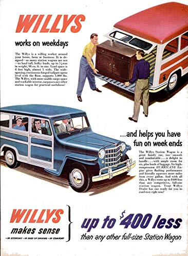 - 1951 WILLYS JEEP STATION WAGON