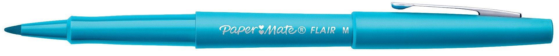 Paper Mate Flair Felt Tip Pen, Medium Point, Sky Blue, 1 Pen by Paper Mate (Image #1)