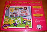 Strap-Hinge Memory Album Kit~8.5''x11''~20 pages
