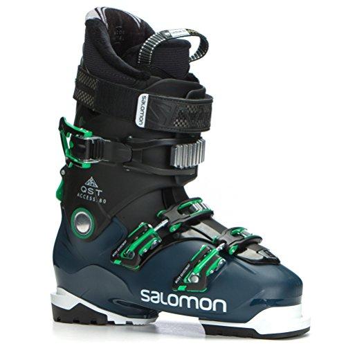 Salomon QST Access 80 Ski Boots 2018 - 27.5/Black-Petrol Blue-True Green