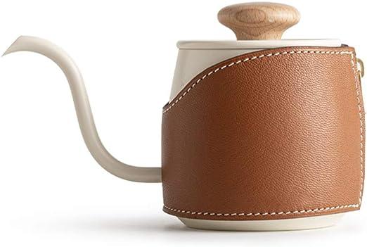 GIGIEroch Hervidor de café fácil de Limpiar para la Oficina 360ml ...