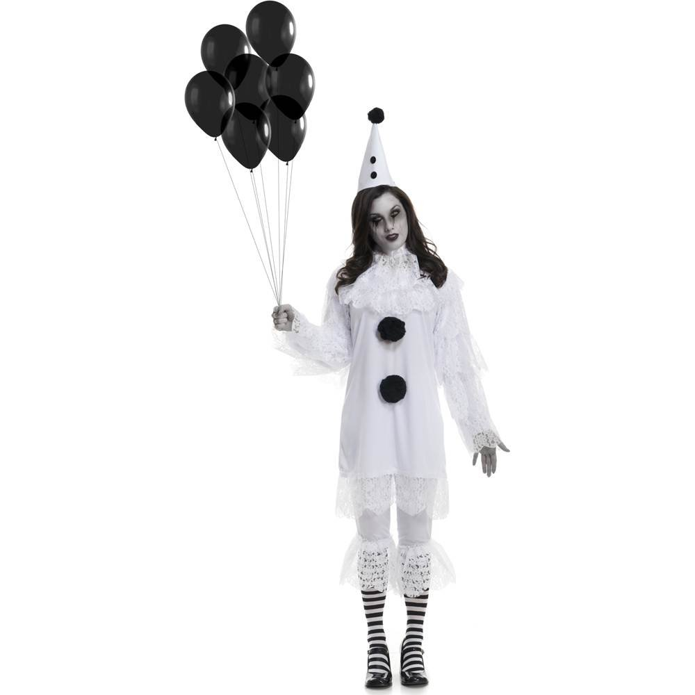 Charades Womens Heartbroken Clown Costume