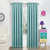 Best  - Eclipse 15655052063TUQ Kai Thermal Blackout Panel,Turquoise,63x52 Review