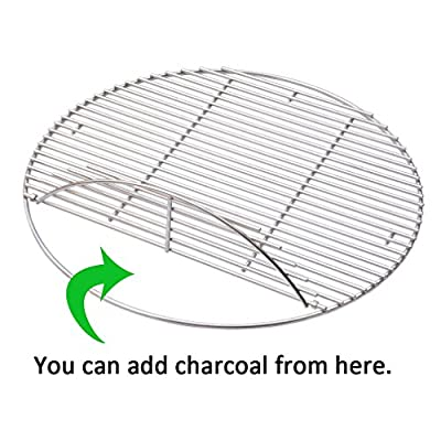 Onlyfire Grill Cooking Grate Grid Fits for Kamado Joe Big Joe,X-Large Big Green Egg and Other Ceramic Grills