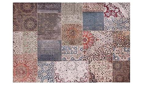 Webtappeti.it tappeto design moderno stile maiolica sicily mambo cm