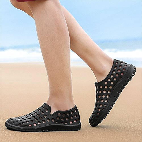 2018 Lovers Driving Primavera on Slippers Scarpe New Beach Comfort Shoes Traspirante B Casual E Mesh Hole Xue Mocassini Slip Grandi Estate wEYdxc