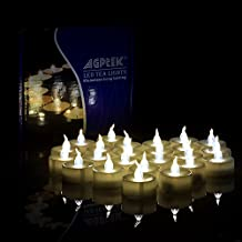 100pcs Tea Light Wedding Party Flameless LED Candles (Warm White) Including Batteries