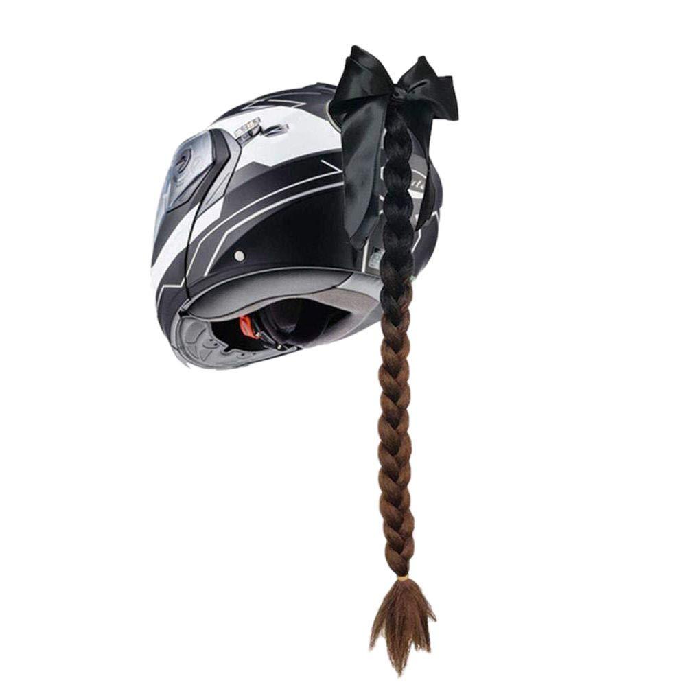 Inicio Cascos de Moto Trenza Trenzas de Pelo Rampa de Gradiente con Ventosa para Motocross Moto Cara Completa Off Road Moto Capacete decoraci/ón El Casco No Est/á Incluido