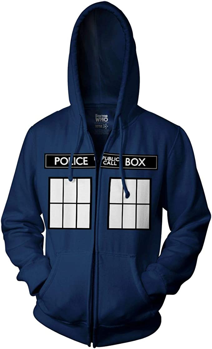 Police Telephone Box Hoodie