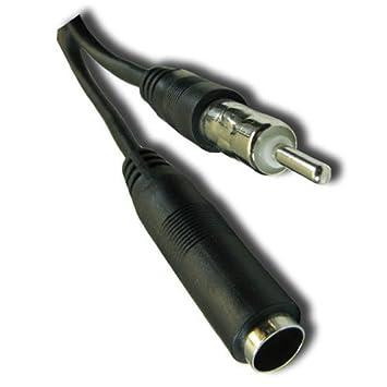 """fivetech 144 """"12 pies pie AM FM Antena Cable de extensión adaptador de antena"""