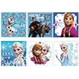 "Disney's Frozen Stickers 2.5x2.5"" 100 count"