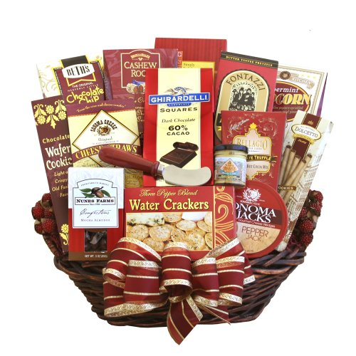 California Delicious For The Gang Gift Basket