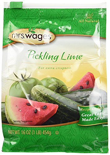 Mrs. Wages Pickling Lime Seasoning (2-Resealable Bags, 1 Pound each)