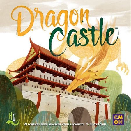 CMON For Dragon Castle, Board Game Dragon Board Game
