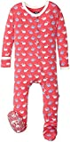 Kickee Pants Baby Girls' Print Footie