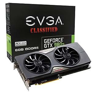 Amazon.com: EVGA GeForce GTX 980 Ti ACX 2.0+ - Tarjeta ...