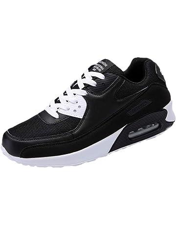 promo code 04319 e1d1f ALIKEEY Sneakers Homme Blanche Chaussures de sécurité Hommes Chaussures de  Sport à Bout Rond à la