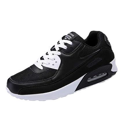 Zapatos de hombre JiaMeng Hombres Zapatillas Moda Hombres de Punta Redonda para Correr Zapatillas Ligeras Antideslizantes Transpirables: Amazon.es: Ropa y ...