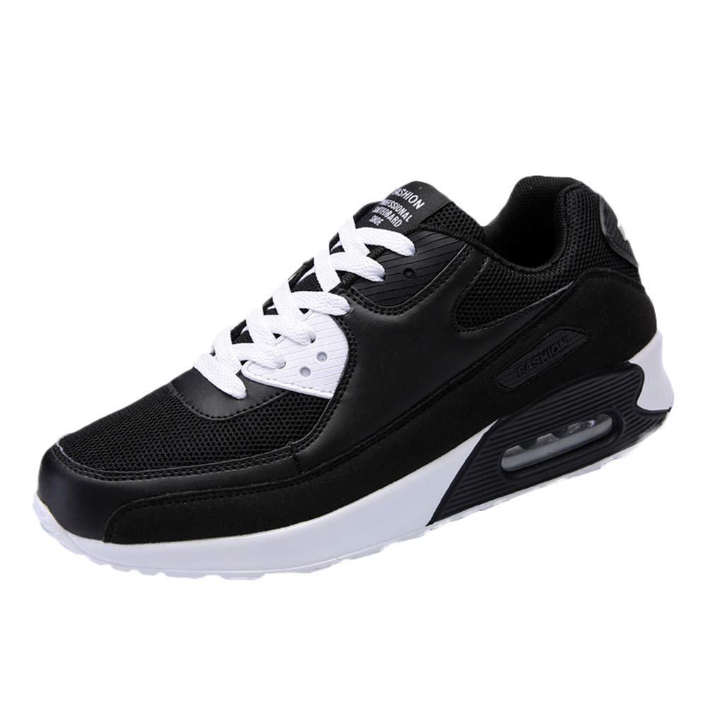 Zapatillas Deporte Hombre, Hombres Casual Running Ronda-Toe Zapatos Ligero Transpirable Zapatillas Antideslizante