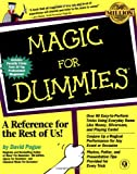 Magic for Dummies, David Pogue, 0764551019